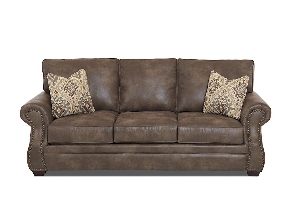 Klaussner JasperTraditional Dreamquest Queen Sleeper Sofa