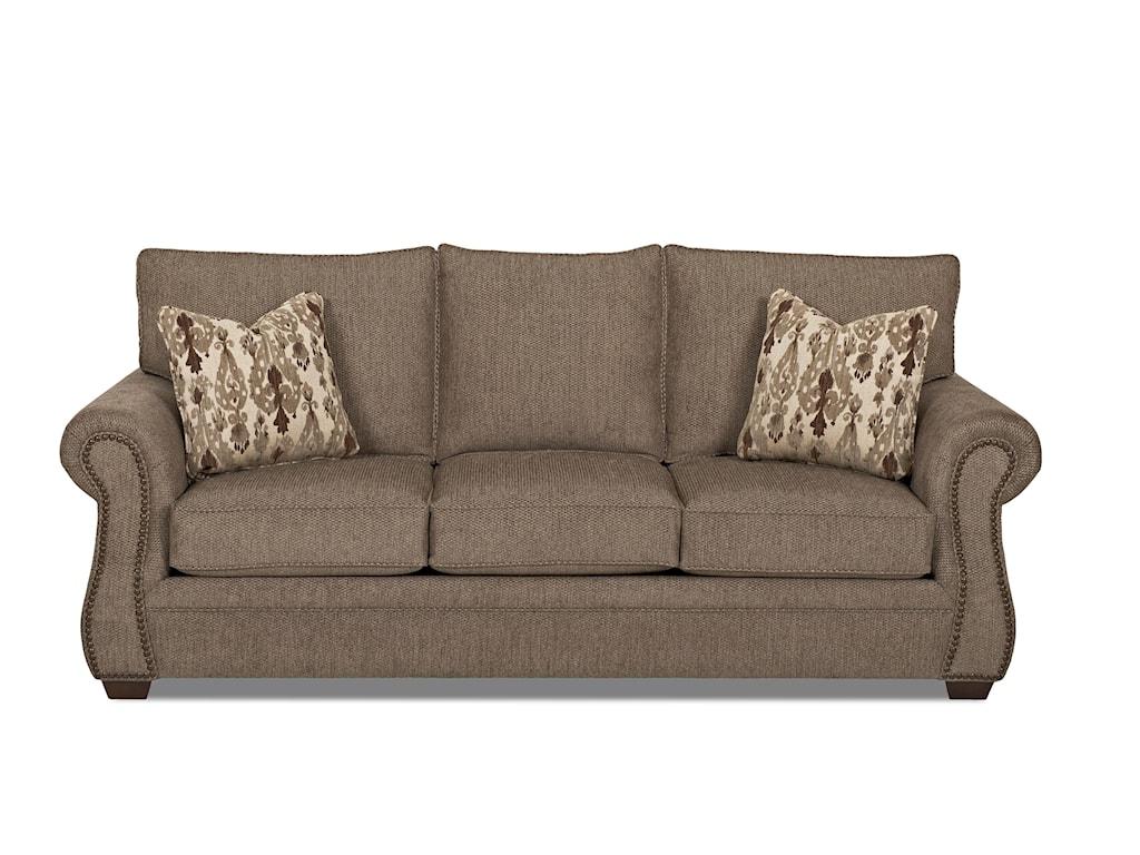 Klaussner JasperTraditional Queen Inner Spring Sleeper Sofa