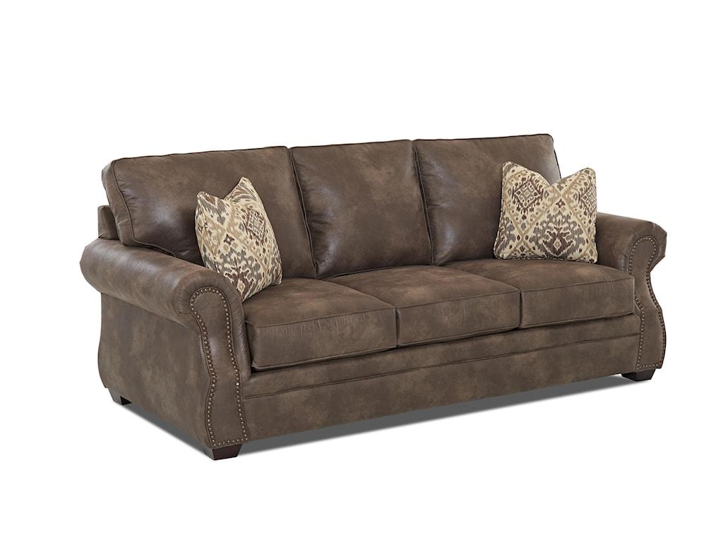 Elliston Place JasperTraditional Queen Inner Spring Sleeper Sofa