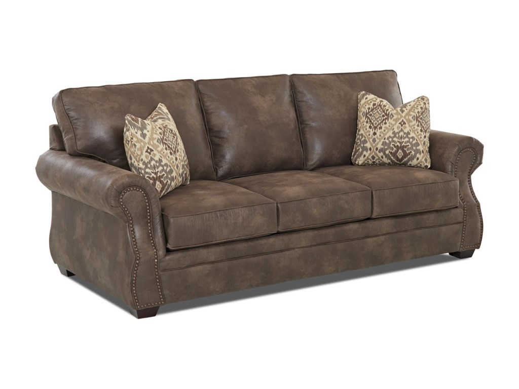 Elliston Place JasperTraditional Queen Inner Spring Sleeper Sofa