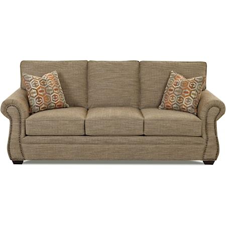 Traditional Air Coil Mattress Sleeper Sofa