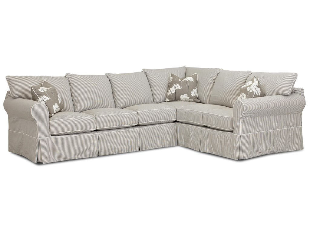 Elliston Place JennyTransitional 2 Piece Sectional Sofa