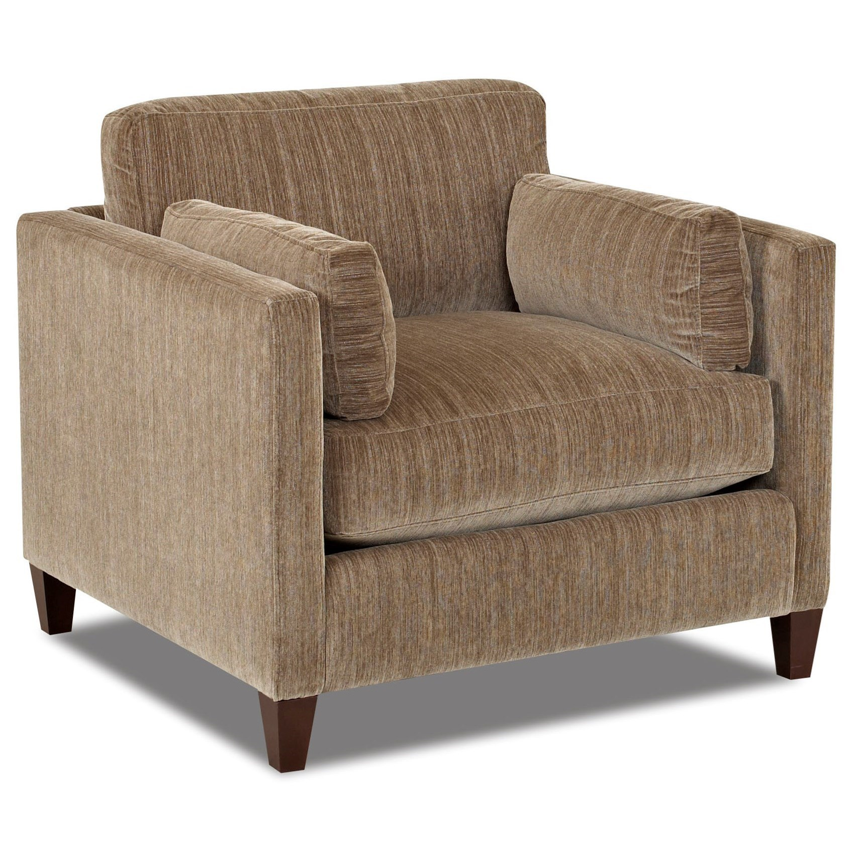 Home Living Room Furniture Upholstered Chairs Klaussner Jordan Chair.  Klaussner JordanChair