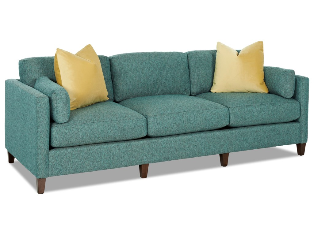 Klaussner JordanSofa w/ Toss Pillows