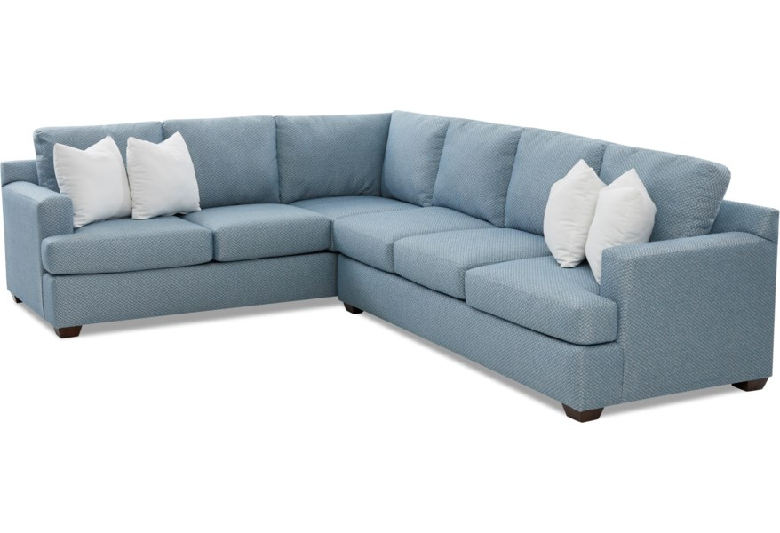 Klaussner Juniper 5 Seat Sectional Sofa