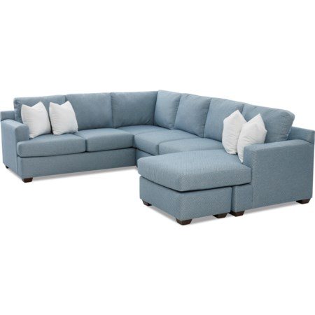 5-Seat Sectional Sofa with RAF Chaise