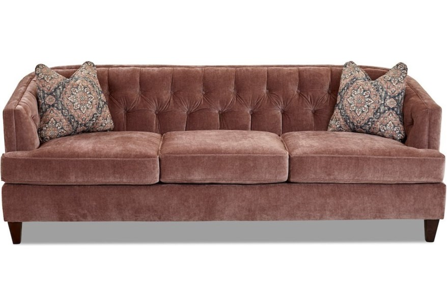 Klaussner Kimbal Tufted Contemporary