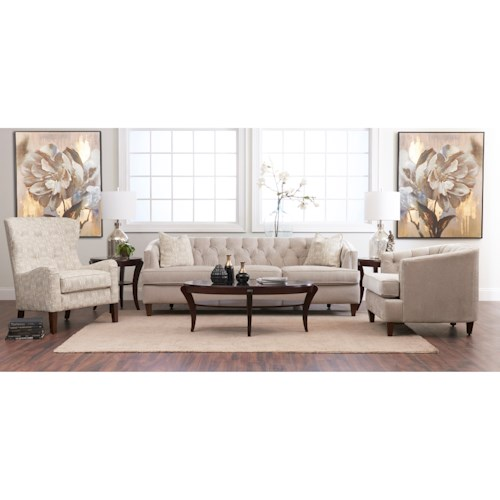 Klaussner Kimbal Contemporary Living Room Group