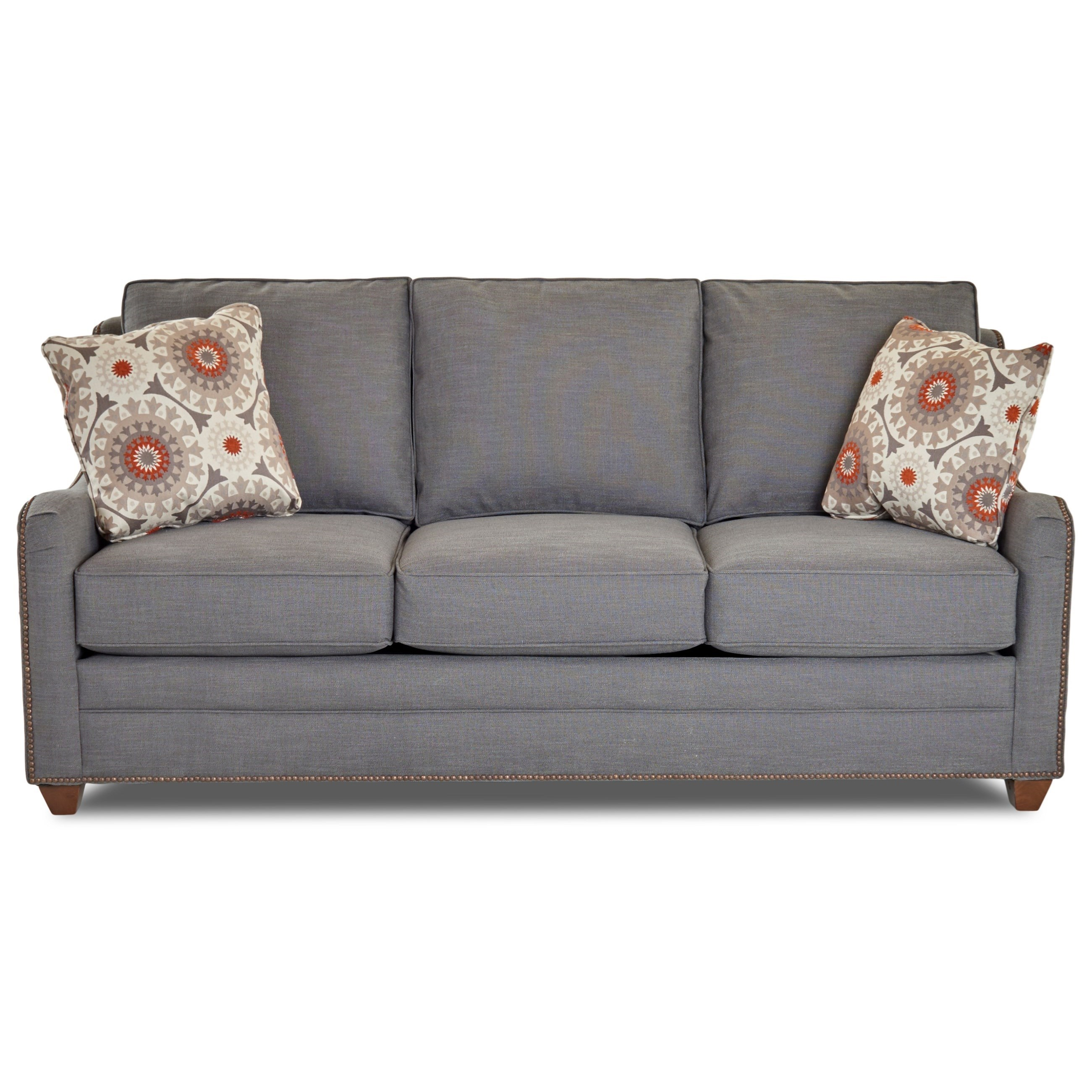 Klaussner KylerSleeper Sofa W/ Enso Memory Foam Mattress ...