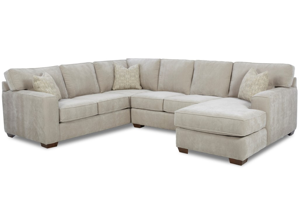 Elliston Place Webster Contemporary Sectional Group   Morris Home ...