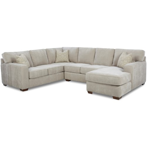 Klaussner Webster Contemporary Sectional Group