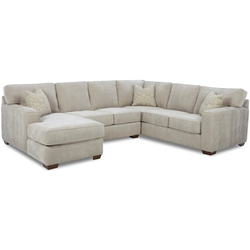 Klaussner Webster Sectional Group