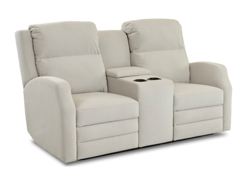 Klaussner KamiahPwr Console Reclining Loveseat
