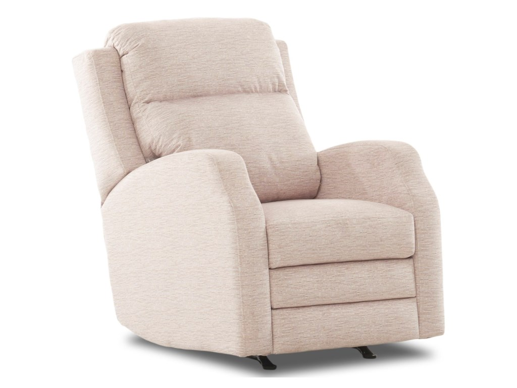 Klaussner KamiahPower Reclining Chair w/ Pwr Head/Lumbar