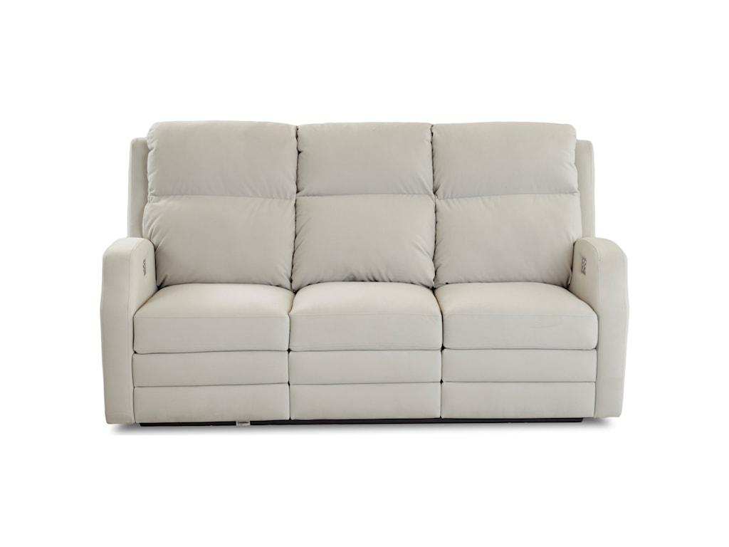 Klaussner KamiahPower Reclining Sofa w/ Pwr Head/Lumbar