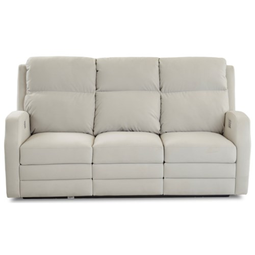 Klaussner Kamiah 77 Inch Power Reclining Sofa With Usb Charging