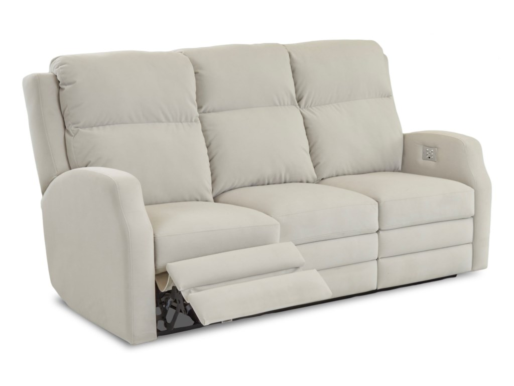 Klaussner KamiahPower Reclining Sofa w/ Pwr Headrests
