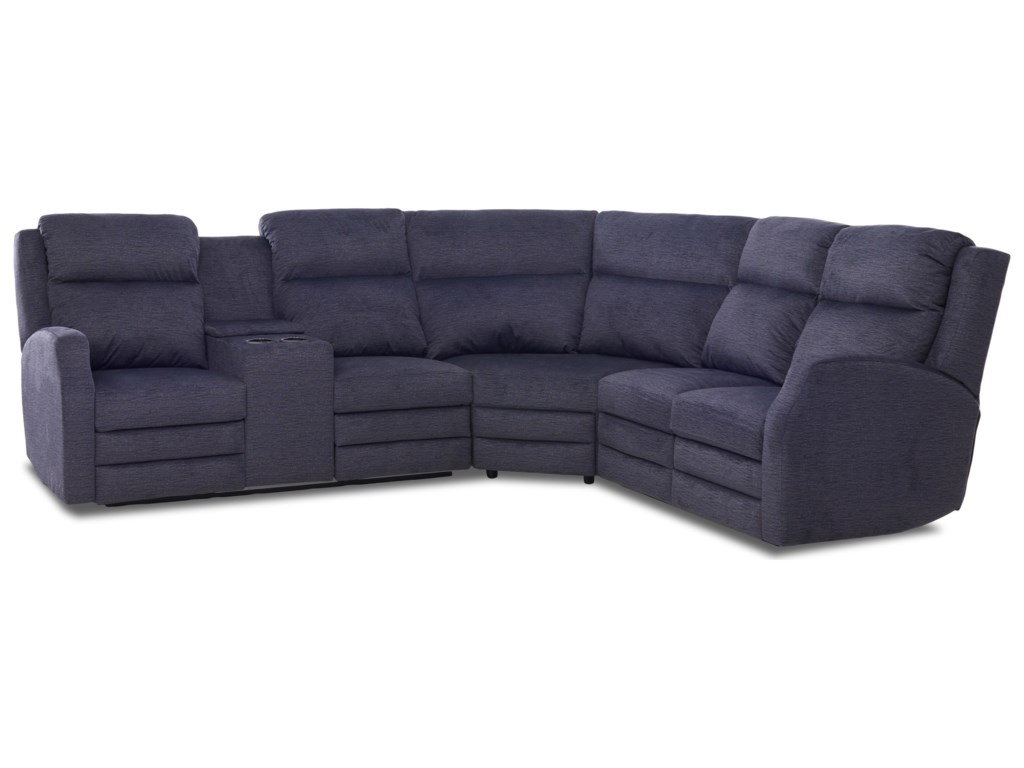 Elliston Place Kamiah4 Seat Pwr Reclining Sect Sofa w/ Pwr Head