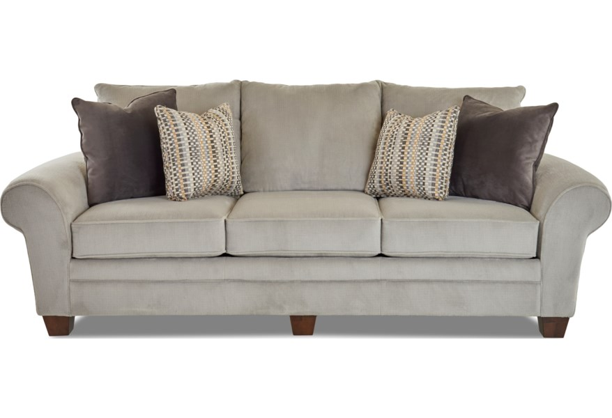K57000 S Luxurious Pillow Back Sofa