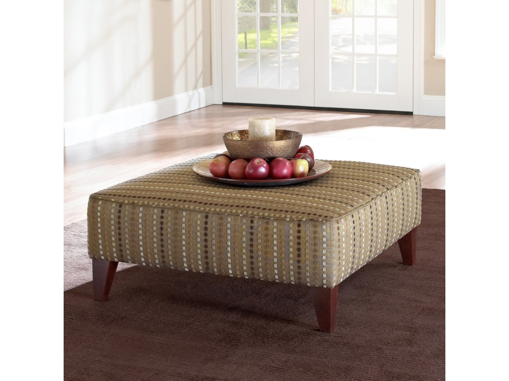 Klaussner Chairs and AccentsSquared Ottoman