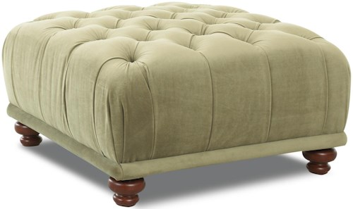 Klaussner Chairs and Accents Oversized East Hampton Accent Ottoman
