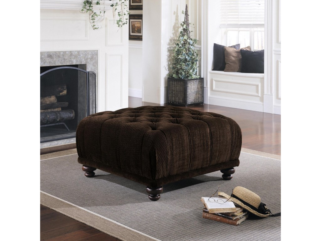 Klaussner Chairs and AccentsEast Hampton Ottoman