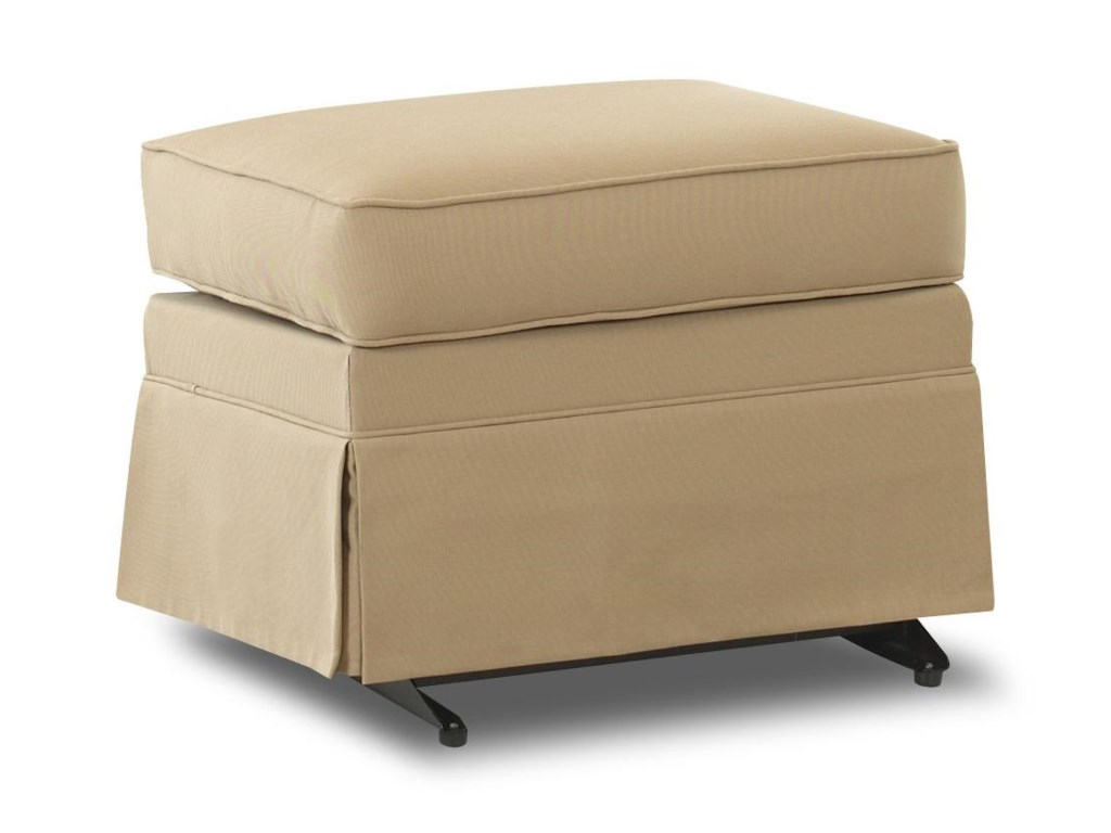 Klaussner Chairs and AccentsCarolina Gliding Ottoman