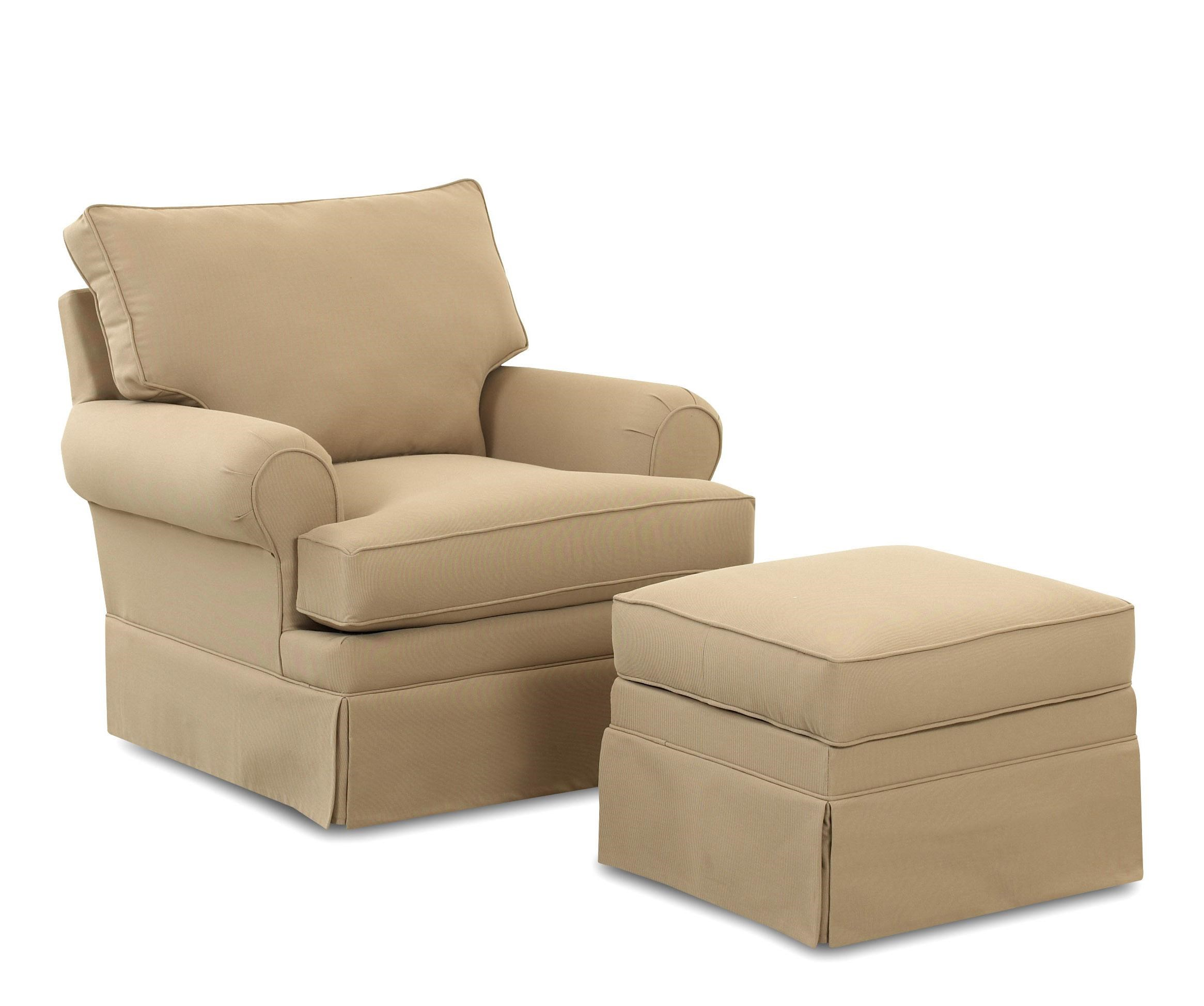 Chairs And Accents Carolina Glider Chair And Ottoman