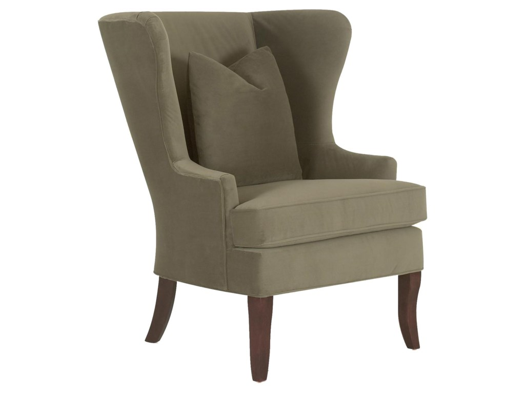 Klaussner Chairs and AccentsSerenity Chair with Down Blend Cushions