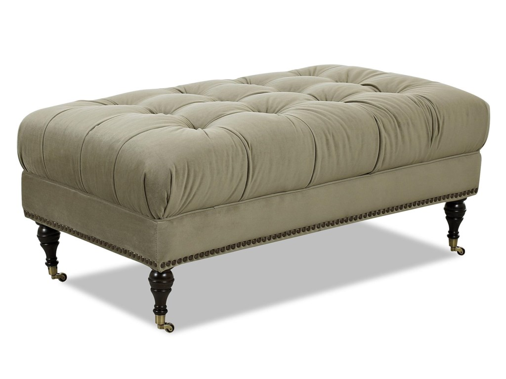Klaussner Chairs and AccentsHilda Accent Ottoman