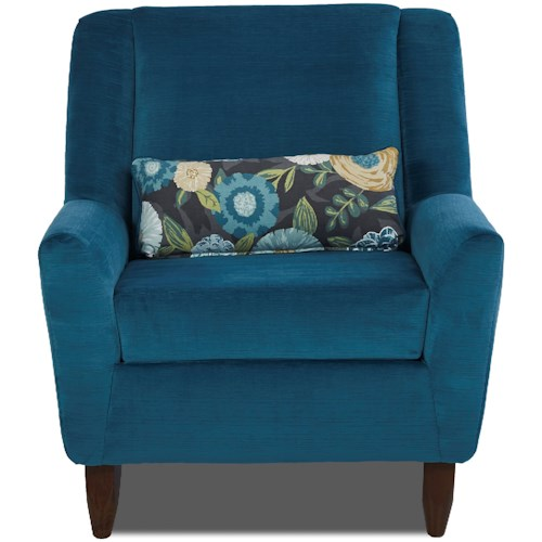 Klaussner Chairs and Accents Hayden Contemporary Accent Chair