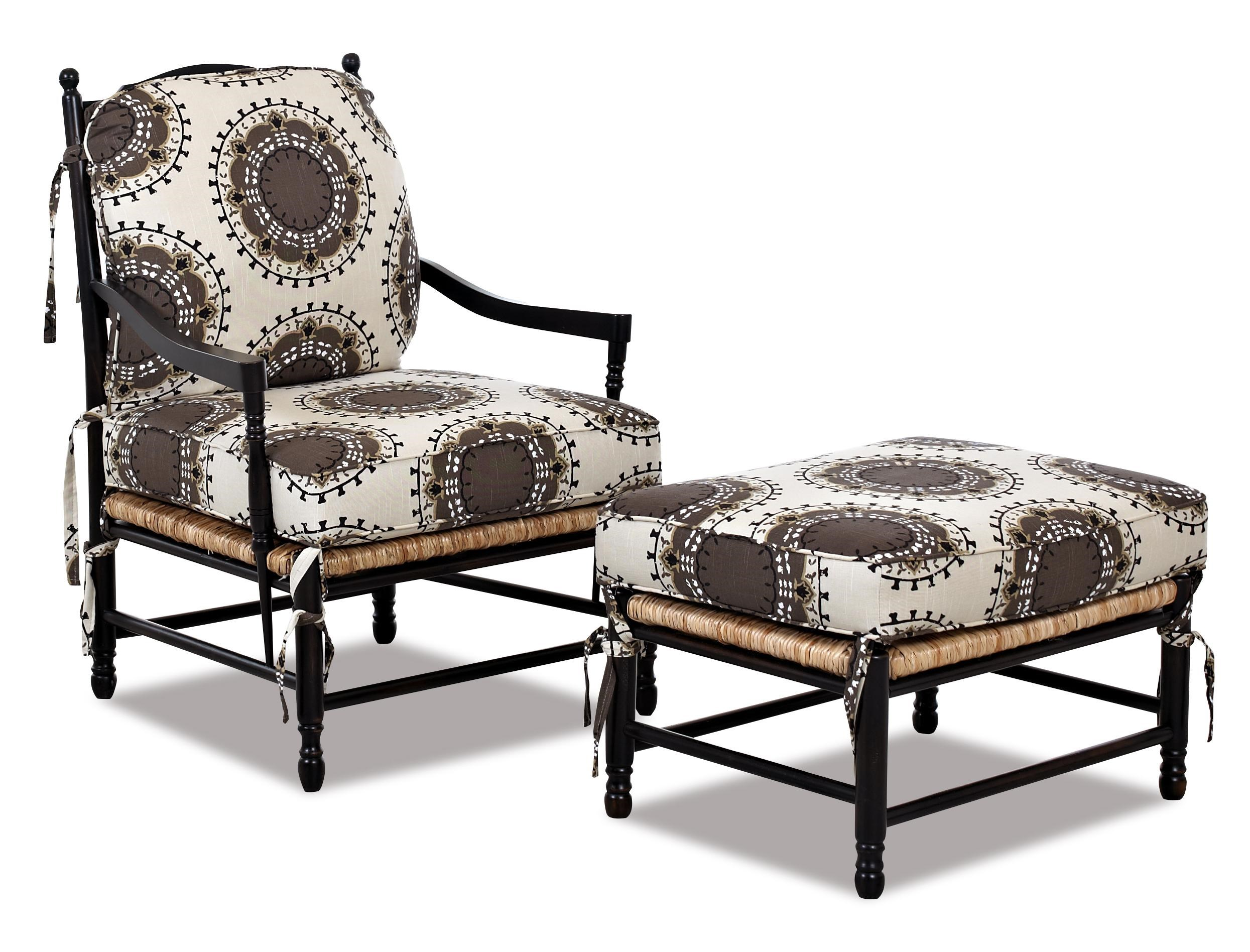 Klaussner Chairs And AccentsVerano Occasional Chair And Ottoman Set ...