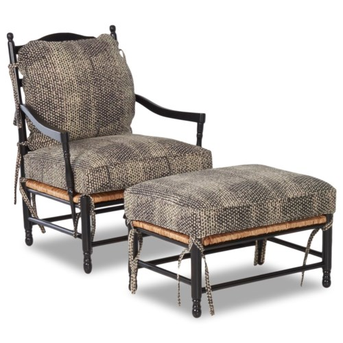 Latest Klaussner Chairs and Accents Homespun Accent Chair and Ottoman Set Simple Elegant - Review accent chair and ottoman set Fresh