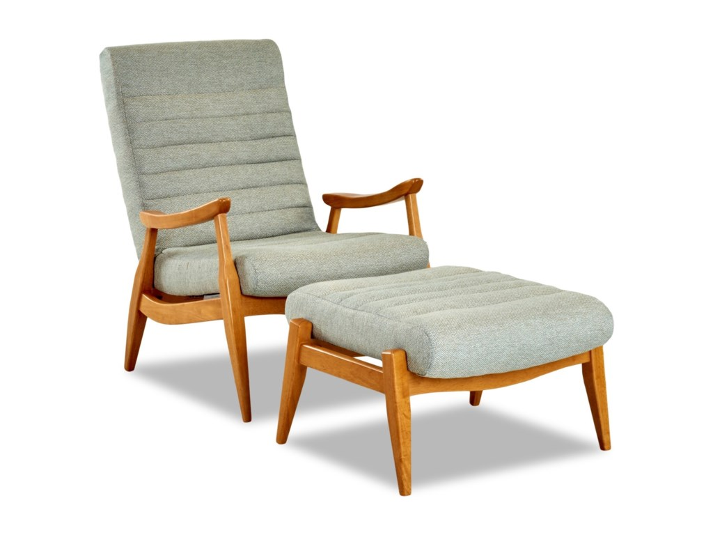 Klaussner Chairs and AccentsHans Chair and Ottoman Set