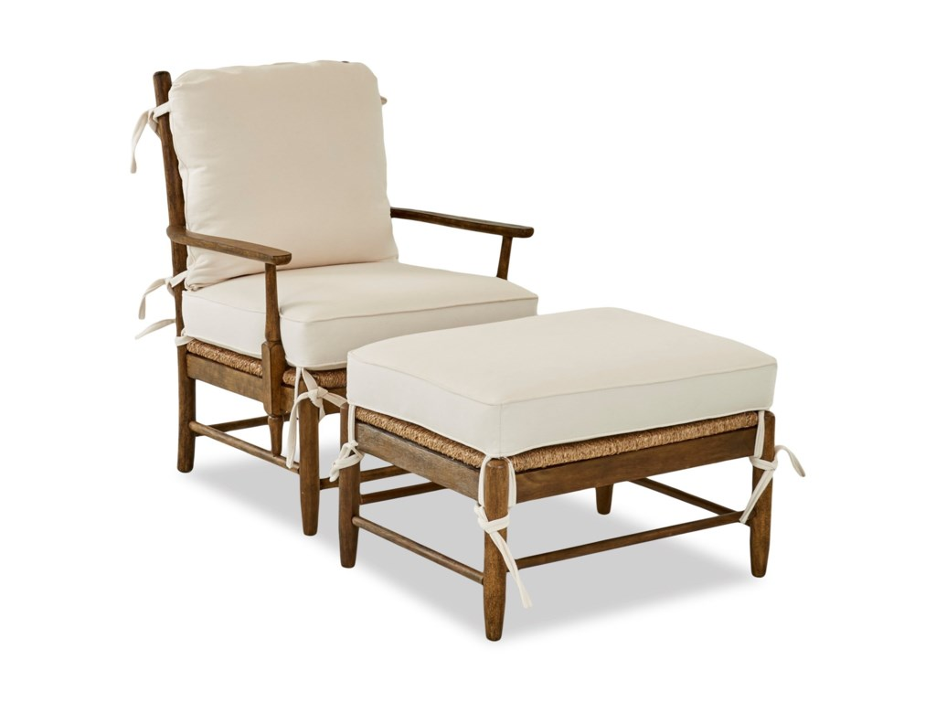 Klaussner Chairs and AccentsRiverbank Occasional Chair & Ottoman