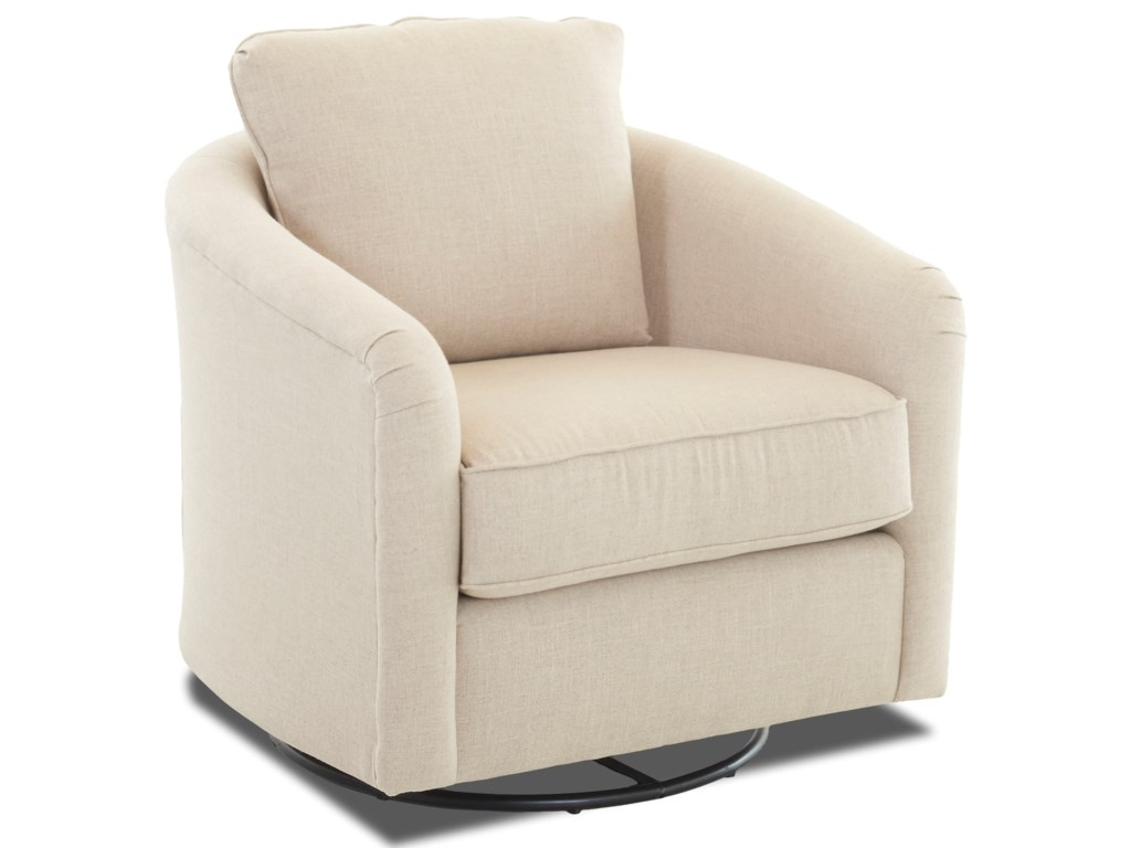 Klaussner Chairs and AccentsUpholstered Swivel Glider
