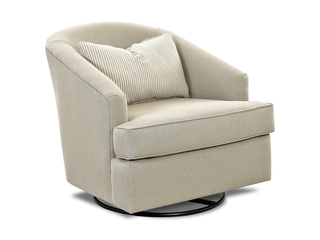 Klaussner Chairs and AccentsDevon Swivel Glide Chair