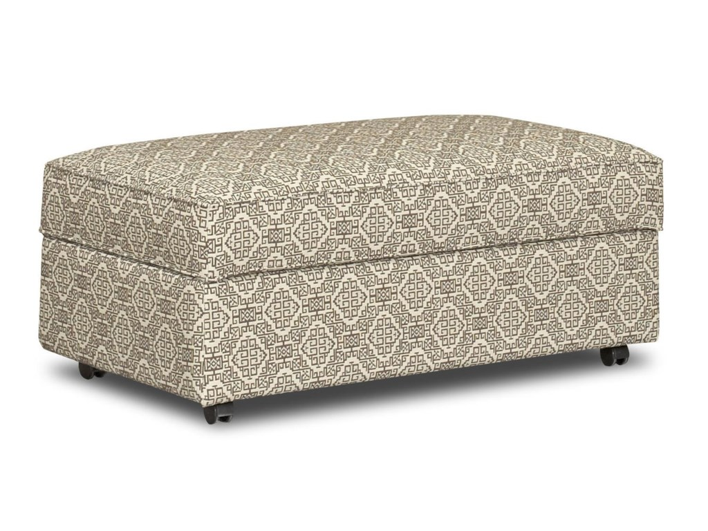 Klaussner Chairs and AccentsStella Storage Accent Ottoman
