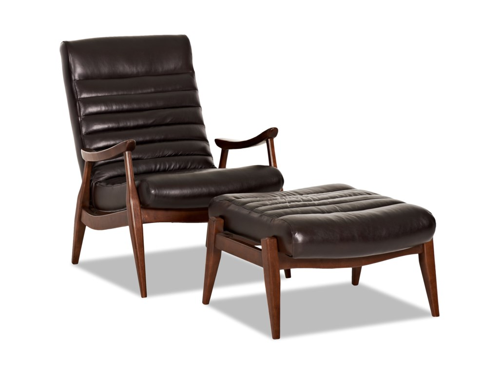 Klaussner Chairs And Accents Hans Mid