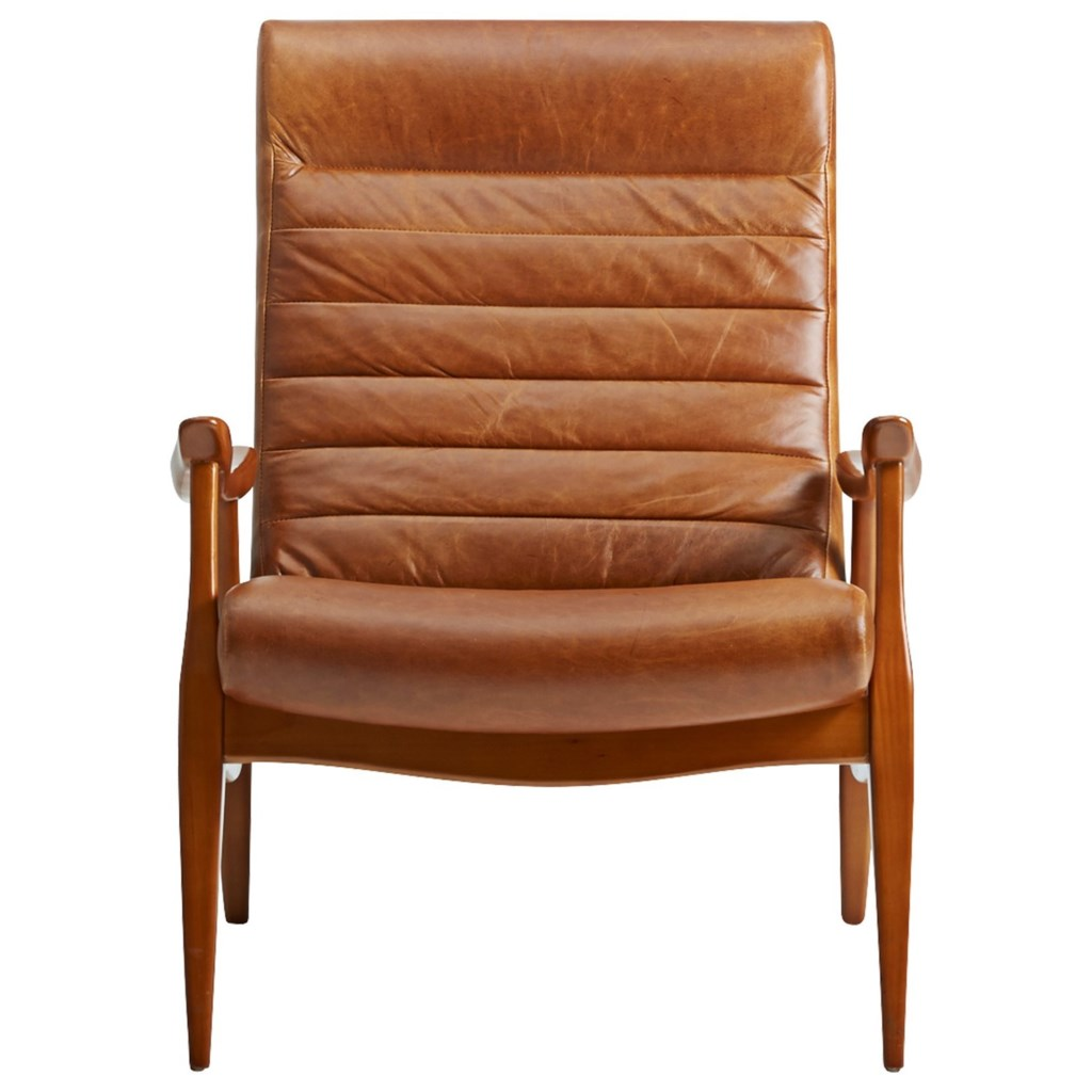 Klaussner Chairs And Accents L3100 Oc Hans Mid Century Modern Chair