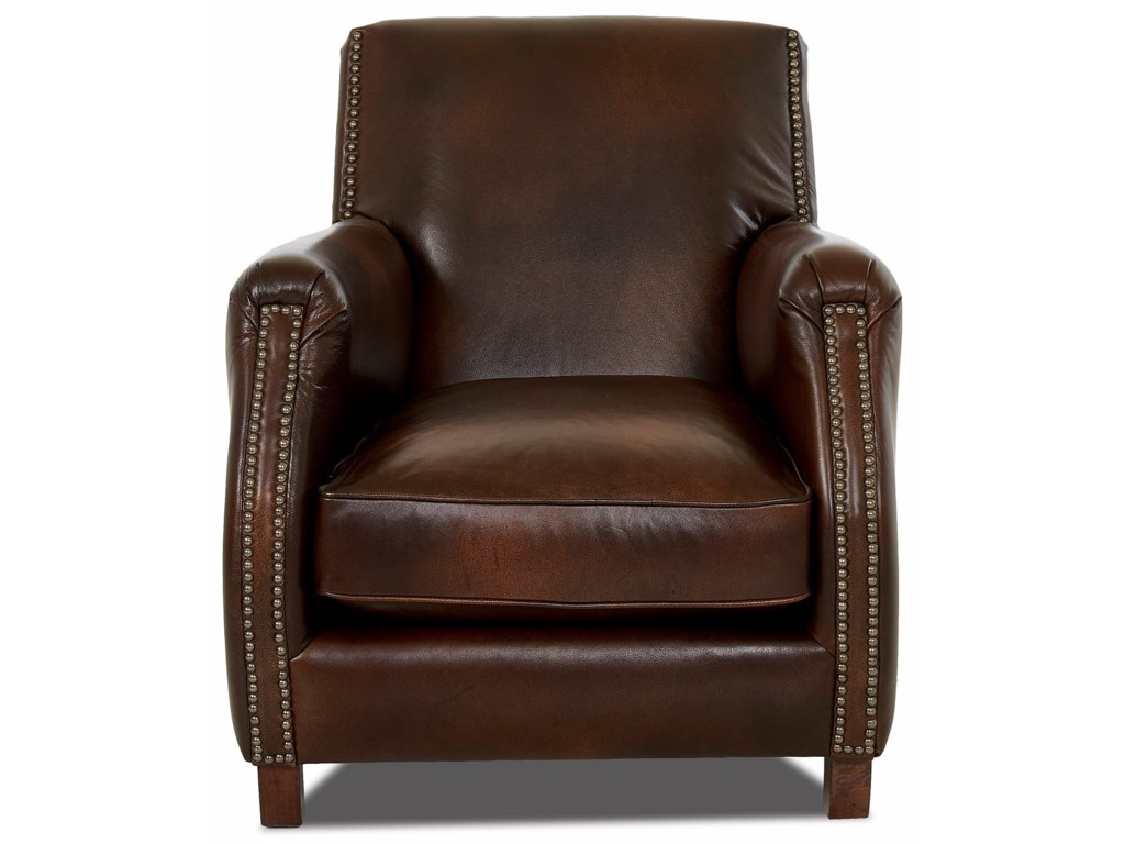 Klaussner Chairs and AccentsRocket Chair w/ Nailheads