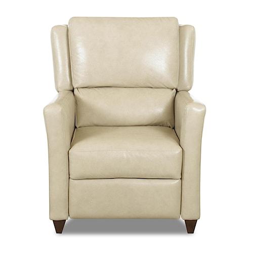 Klaussner High Leg Recliners Madra High Leg Reclining Chair