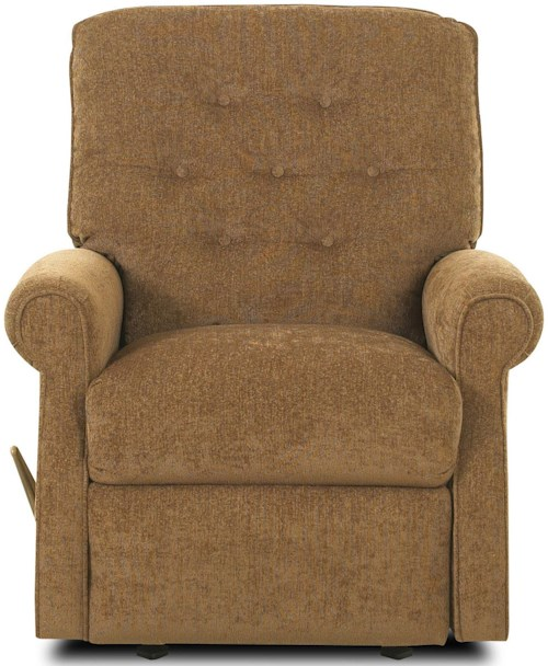 Klaussner Recliners Virgo Reclining Rocking Chair