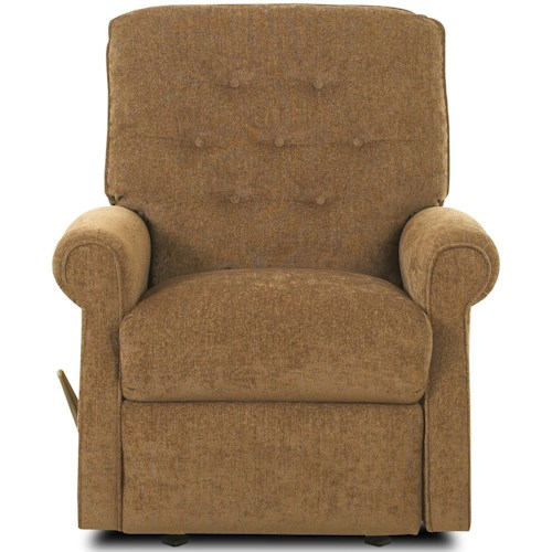 Klaussner Recliners Virgo Swivel Gliding Reclining Chair