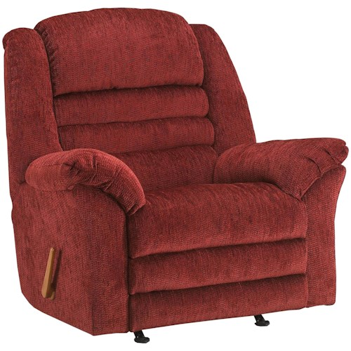 Klaussner Recliners Rutledge Reclining Rocking Chair