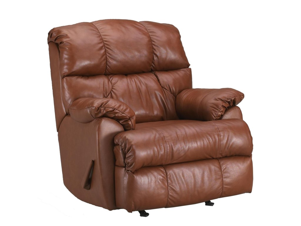 Klaussner RugbySwivel Rocking Reclining Chair