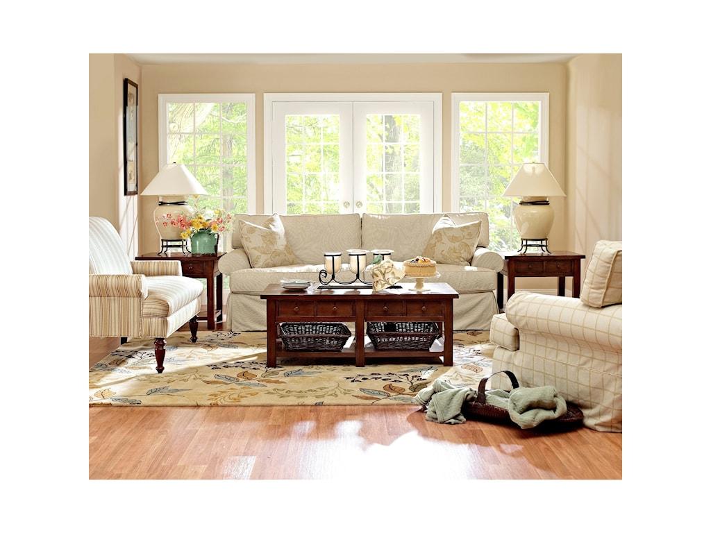 Klaussner LahoyaStationary Living Room Group