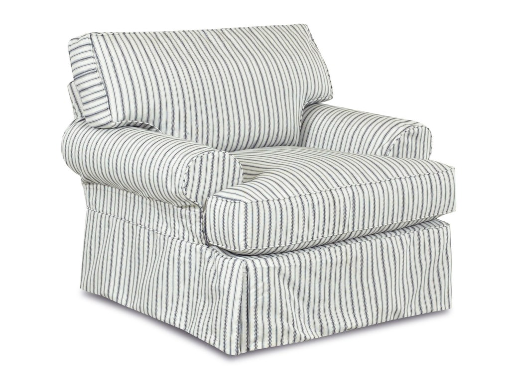 Klaussner LahoyaChair with Blend Down Cushions