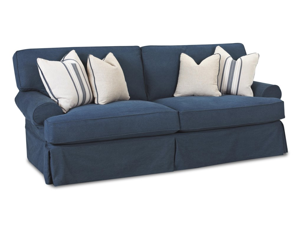 Klaussner LahoyaSofa with Blend Down Cushions