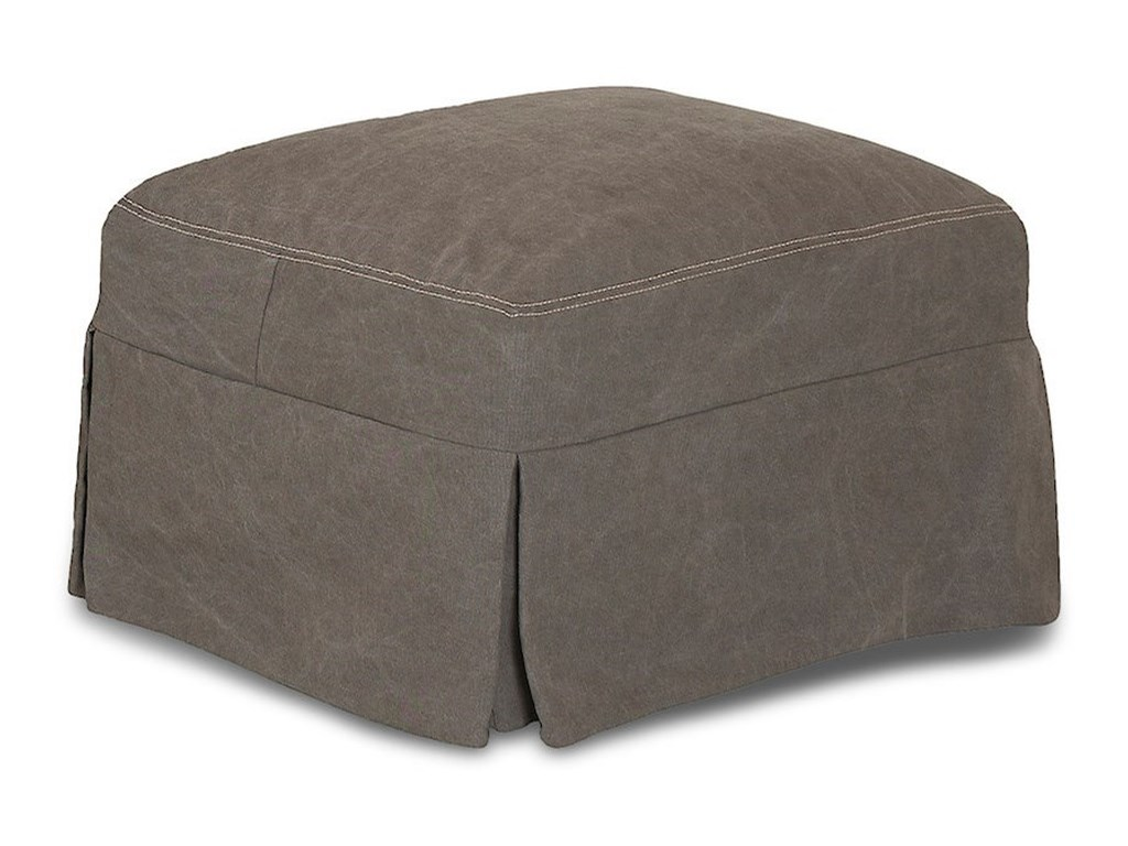Klaussner LahoyaOttoman w/ Slipcover